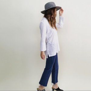 Pilcro & The Letterpress Cropped Flare Jeans